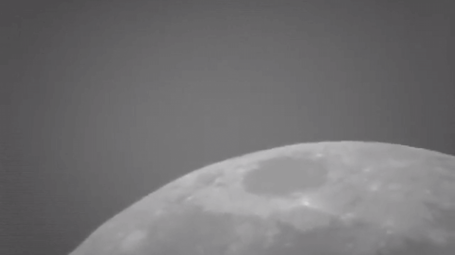 Moon, daylight, no tracking - normal speed