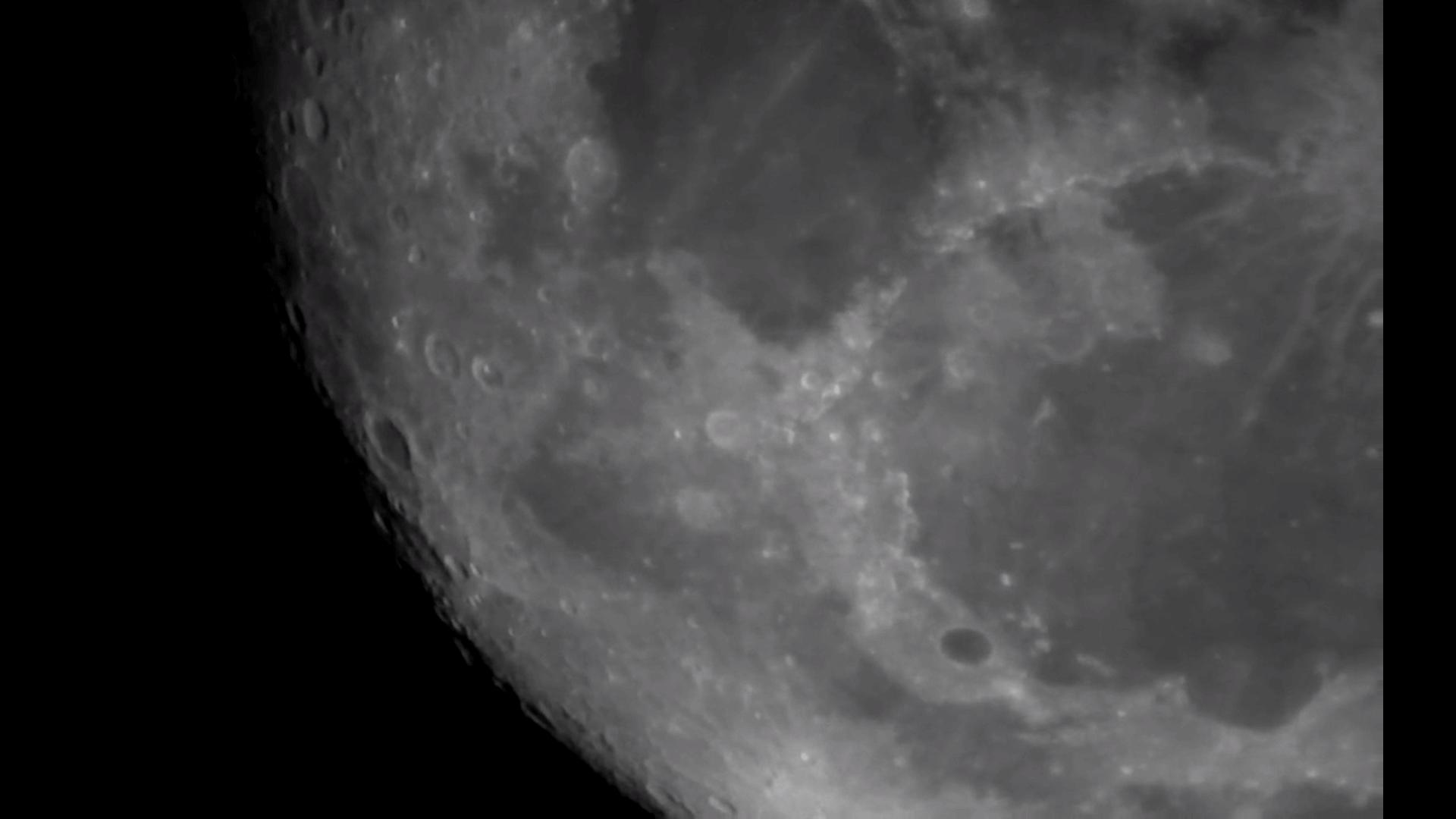 The Moon through my Telescope